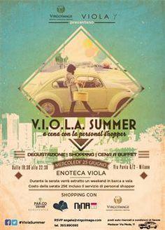 A cena con la Personal Shopper Milano, 25 giugno 2014, Enoteca Viola #ViolaSummer #VirgoImage