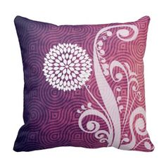 Discount Deals Purple Vintage Polka Dot Pattern Throw Pillow today price drop and special promotion. Get The best buy