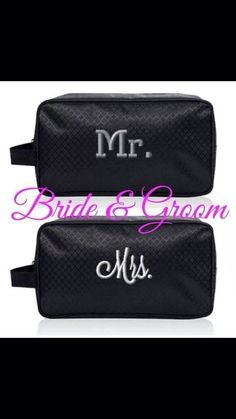 A practical gift for the new couple... His and her 24/7 Cases by Thirty-One...carry those toiletries in style!