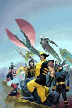 Marvel Heroes - Esad Ribic