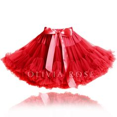 PS101-RED | Olivia Rose ™ Pettiskirts