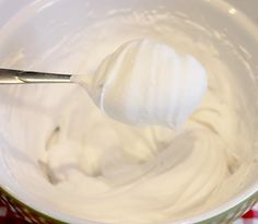 How to make whipped coconut cream from a can of coconut milk!  mmmm mmmmm good!!