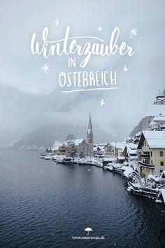Zauberhafter Winter in Österreich mit märchenhaften Städten wie Hallstatt, Thermen in der Steiermark und Hüttenzauber mit Käsespätzle