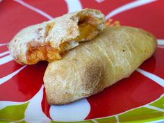 Hawiian Pizza Pockets. This website has tons of food ideas easy and yummy enough for toddlers to eat, but still delicious enough for adults to enjoy as well :)