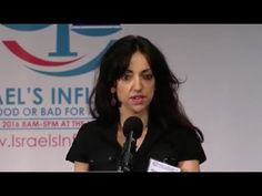 Conference on Israel's influence: Huwaida Arraf #WarOnStupid #EducatingWhitey