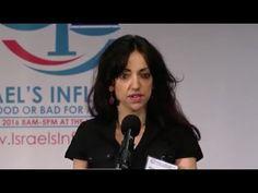 Conference on Israel's influence: Huwaida Arraf #WarOnStupid #EducatingWhitey