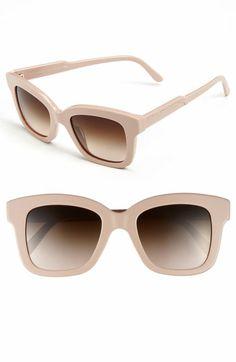 Stella McCartney Retro Sunglasses | square Nude 4039