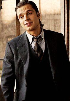 "Sebastian Stan as James Buchanan ""Bucky"" Barnes"
