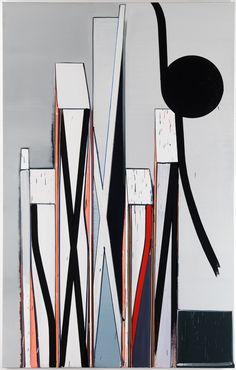 Thomas Scheibitz 2 pm Position, 2006 / 2007, 300 x 190 cm