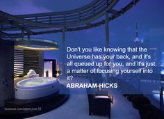 Abraham-Hicks ''Don't you like knowing....''