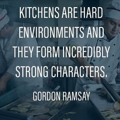 """0 Likes, 1 Comments - Wasserstrom (@thewasserstromcompany) on Instagram: """"It's a hard-knock life... #gordonramsay #quote #quotes #kitchen #chef #chefs #cook #cooks #cooking…"""""""