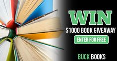 Enter the Buck Books $1,000 Book Giveaway! Enter here > http://buckbooks.net/giveaways/gift-cards/?lucky=3549