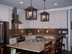 Chocolate Brown Subway Tile For The Kitchen Could Work Well With Granite