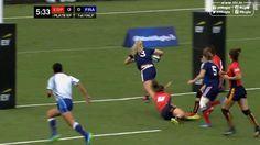VIDEO. Amsterdam 7s. La puissance de Marjorie Mayans ne suffit pas à qualifier France 7 féminines pour les JO - Le Rugbynistère - 27/05/2015