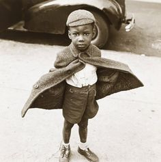 erome Liebling (United States, 1924-2011) Butterfly Boy, New York 1949 Gelatin silver print The Jewish Museum, New York