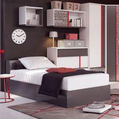Patul din gama Lars este ideal pentru un dormitor în care să predomine stilul jovial, tineresc și modern.  #mobexpert #mobiliercopii #paturicopii #reduceri Urban Chic, Bed, Modern, Furniture, Home Decor, Trendy Tree, Decoration Home, Stream Bed, Room Decor