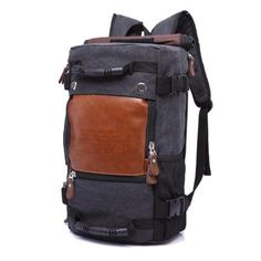 Hulk  Functional Travel Bag. Luggage BackpackHiking BackpackCanvas ... b3d55a1153a67