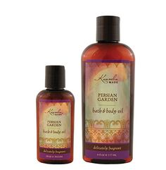Persian Garden by Kuumba Made is a light clean scent with a hint of mystery. Our versatile organic Bath and Body Oil are packed with moisturizing agents that leave skin and hair radiant, healthy and softly aromatic. Visit www.kuumbamade.com to find a scent that you love.