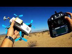 Eachine 180 Tiltrotor High Speed Desert Runs