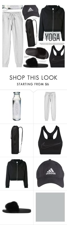 """Yoga"" by chocolate-addicted-angel on Polyvore featuring adidas, M Z Wallace, NIKE, Givenchy, SANDERSON, yoga, sweats and 2017"