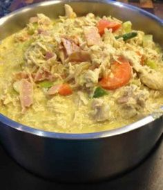 """Fast Chicken Curry"" in the ""Thermomix, Everyday Cookbook"". It's a very easy, and healthy weekly staple in our house. It can easily be adapted if you do not have a thermomix. Ingredients 2 cloves of garlic 1 onion (peeled and quartered) 1 … Wrap Recipes, Indian Food Recipes, Dinner Recipes, Dinner Ideas, Curry Recipes, Vegetarian Recipes, Healthy Recipes, Vegetable Recipes, Chicken Recipes"