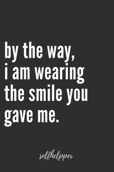 (notitle) (notitle) ,Quotes quotes quotes for him quotes for husband love quotes love quotes for him love quotes for him Are you able to say probably the most lovely love phrases to your lover, your partner. With Love Quotes you'll say probably the most … Always Smile Quotes, Keep Smiling Quotes, Happy Love Quotes, Inspirational Quotes About Love, You Make Me Smile Quotes, Beautiful Smile Quotes, Love Qoutes, Crave You Quotes, Smile Qoutes