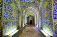 Interior design, remodeling picture - Sheikh Lotfollah Mosque Isfahan, Iran, by towcentsworth Persian Architecture, Amazing Architecture, Art And Architecture, Historical Architecture, Beautiful Mosques, Beautiful Places, Interior Design And Remodeling, Interior Ideas, Moslem