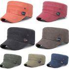 Men Women Unisex Sun Hat Army Military Cap Outdoor Cadet Adjustable Plain MAD