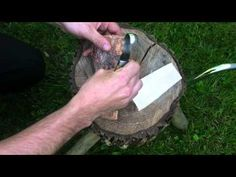 Spoon Carving with a Hook Knife - YouTube