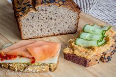 Gluten Free Easy Buckwheat Bread – Cooking Without Gluten Vegetable Bread, Vegetable Puree, Gluten Free Buckwheat Bread, Yeast Free Breads, Bread Substitute, Gf Recipes, Flour Recipes, Low Carb Bread, Gluten Free Baking