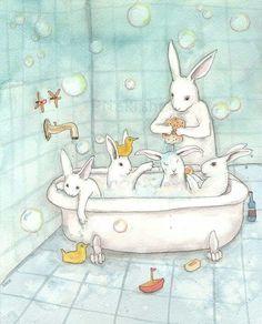 Bubble bunnys
