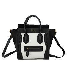Bildergebnis für celine nano luggage black and white