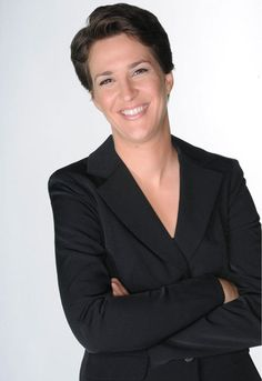 Rachel Maddow: strong, dorky, intelligent woman.