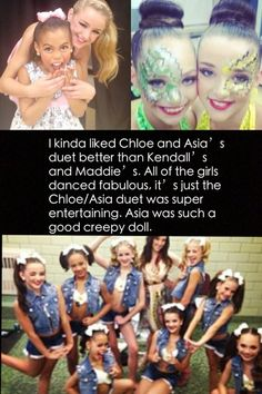 Dance Moms Confessions . . just my option....
