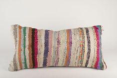 Pillow cover kilim pillow throw pillows,organic pillow,turkish pillow handwoven 30 x 60 cm,12 x 24 inch