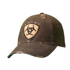 Ariat Embroidered Brown Baseball Cap 1582602