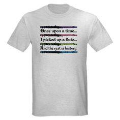 flute t shirts | Flute Fairytale T-Shirt by milestonesmusic