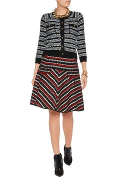 Shop on-sale Oscar de la Renta Wool and cotton-blend tweed skirt. Browse other discount designer Skirts & more on The Most Fashionable Fashion Outlet, THE OUTNET.COM