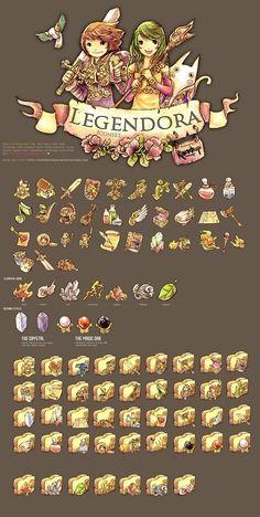 Legendora Icon Set