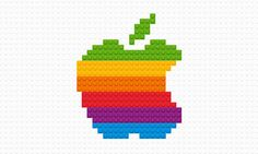 Iconic Logos Digitally Rendered in LEGO | Cool Material