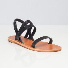 The Women's Summer Sandal Black