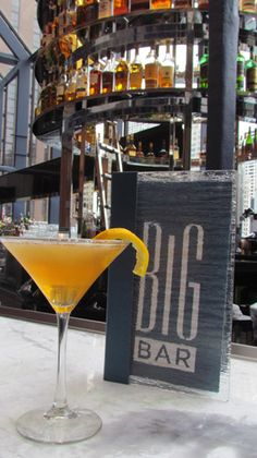 New Cocktails from BIG Bar and Stetsons Modern + Steak Sushi in the Hyatt Regency, Chicago
