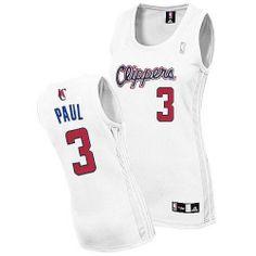 2c24b45429da Los Angeles Clippers  3 Chris Paul Swingman Women Home Fashion Jersey  Jordan Cp3