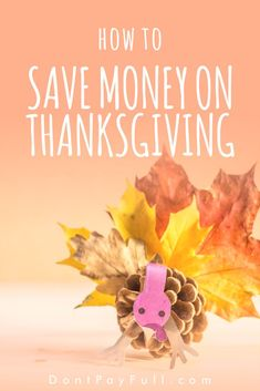 Enjoy this Thanksgiving with your friends and family without overspending. Here is how to celebrate a traditional Thanksgiving holiday on a budget. #DontPayFull