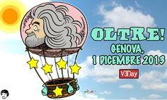 Oltre, Genova 1 dicembre, V3day #OLTREv3day Annuncio del terzo Vday dal blog di Grillo