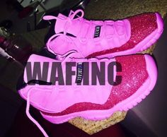 Browse all products from WAF Inc. Pink Jordans, Jordans Girls, Womens Jordans, Sneakers Fashion Outfits, Nike Shoes Outfits, Jordan Outfits, Jordan Shoes Girls, Girls Shoes, Pride Shoes
