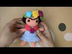 MUÑECA FRIDA TEJIDA - YouTube