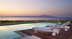 SK place - Almyra Residence - Authentic Crete, Villas in Crete, Holiday Specialists Heated Pool, Crete, Villas, Bedrooms, Romantic, Luxury, Places, Outdoor Decor, Design