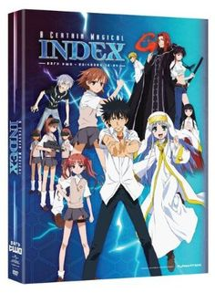 Certain Magical Index Coll Part 2 DVD Box Set