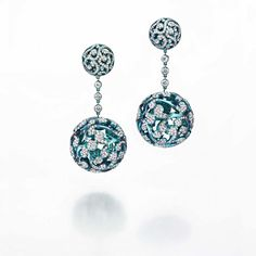 ings in colored titanium with white diamonds 11.37 ct by Tard